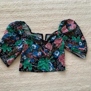 グレイル(GRL)のGRL SLY SNIDEL EMODA 韓国 リリーブラウン オフショル(Tシャツ(半袖/袖なし))