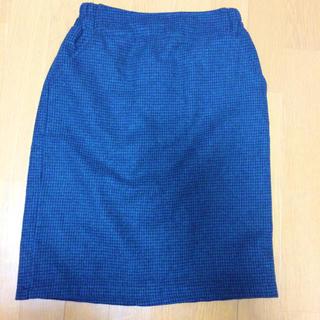 レイカズン(RayCassin)のチェック タイトスカート(ひざ丈スカート)