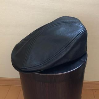 KANGOL - goffa.x購入 レザーハンチング L/XL