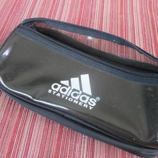 アディダス(adidas)の◆ アディダス『 ペンケース 黒 』※ジャンク(ペンケース/筆箱)