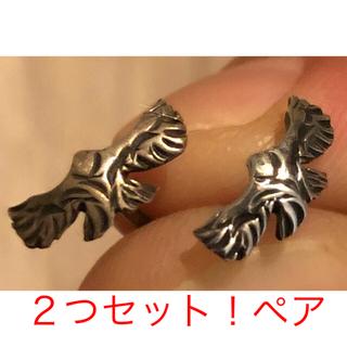 ゴローズ(goro's)のペア!イーグルピアス、silver 925 BIG HAND ビックハンド(ピアス(片耳用))