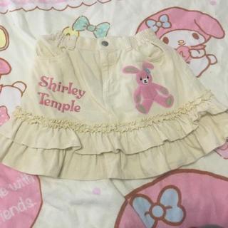 シャーリーテンプル(Shirley Temple)のコーデュロイスカート110cmシャーリーテンプル(スカート)