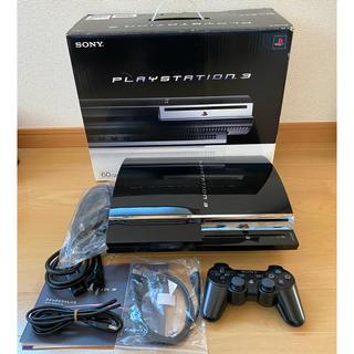 プレイステーション3(PlayStation3)のPS3 プレイステーション3 FW3.55 初期型60GBモデル(家庭用ゲーム機本体)