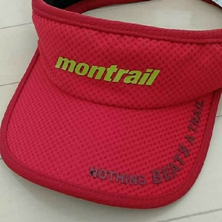 モントレイル(montrail)のタイムセール新品タグ付き!Montrail TRAIL、ランニング、サンバイザー(その他)