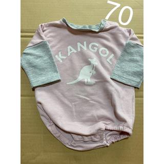 カンゴール(KANGOL)のkangol  ロンパース 70(ロンパース)