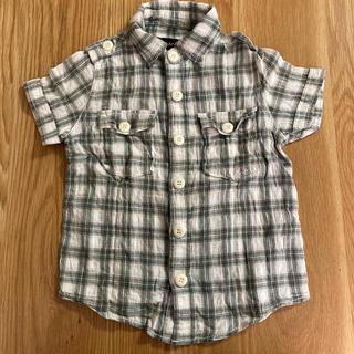 エーキャンビー(A CAN B)のA CAN B チェック半袖シャツ(ブラウス)