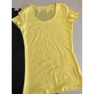 無地 黄色 Tシャツ(Tシャツ(半袖/袖なし))