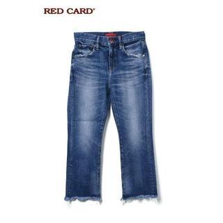 新品 RED CARD レッドカード Diner FLARE CROP デニム(デニム/ジーンズ)