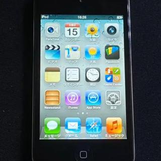 アイポッドタッチ(iPod touch)のApple iPod touch 4th Black 32GB(ポータブルプレーヤー)