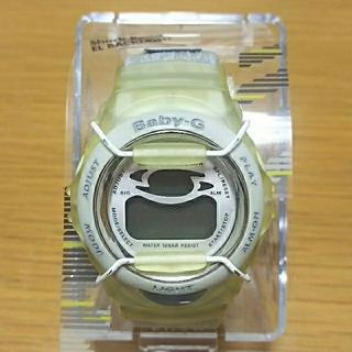 ベビージー(Baby-G)のCASIO Baby-G  G'MIX  BG-390V-7T ミラーホワイト(腕時計(デジタル))