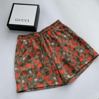 グッチ(Gucci)の【グッチ】GUCCI  イチゴ ショートパンツ(ショートパンツ)