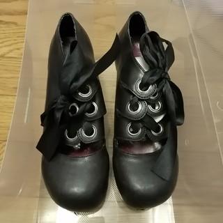 ジェーンマープル(JaneMarple)の木底の厚底靴 MIHO MATSDA (ローファー/革靴)
