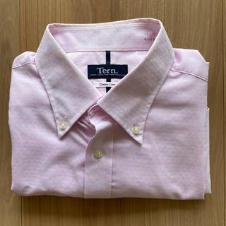 アオヤマ(青山)の【古着】メンズシャツ 半袖 ピンク LLサイズ(シャツ)
