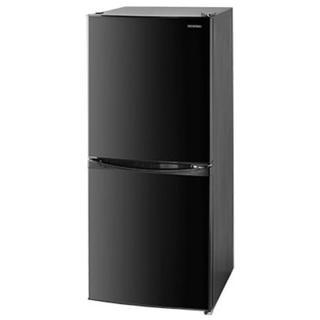 アイリスオーヤマ(アイリスオーヤマ)のアイリスオーヤマ 冷凍冷蔵庫 ノンフロン ブラック IRSD-14A-B(冷蔵庫)