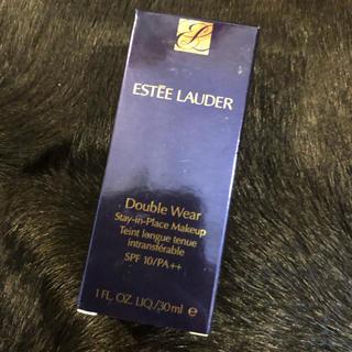 エスティローダー(Estee Lauder)のエスティーローダー ダブルウェア  リキッド 3W0(ファンデーション)
