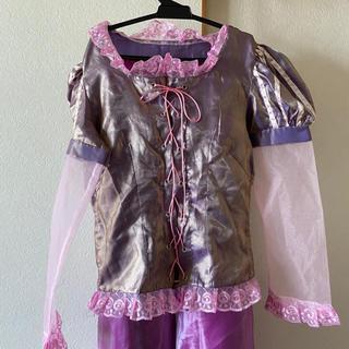ディズニー(Disney)のラプンツェル コスプレ 美品 Dハロ ディズニープリンセス ドレス(コスプレ)