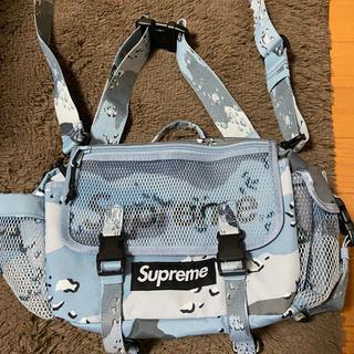 シュプリーム(Supreme)のsupreme waist bag blue camo(ボディーバッグ)
