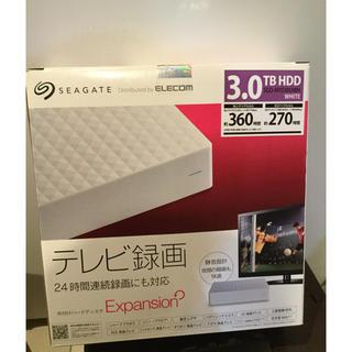 ELECOM - 外付けHDD テレビ録画