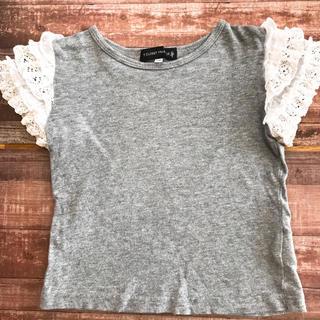 ダブルクローゼット(w closet)の袖フリル tシャツ S.T.CLOSET FRABJOUS(Tシャツ/カットソー)