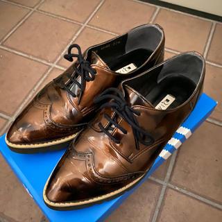 ダイアナ(DIANA)のDIANA エナメル レースアップシューズ オックスフォード(ローファー/革靴)