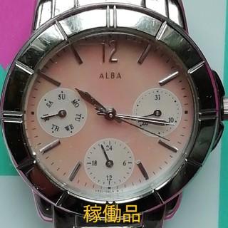 アルバ(ALBA)の143. アルバ 稼働品(腕時計)