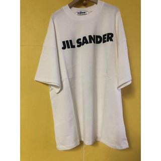 ジルサンダー(Jil Sander)の【Jil Sander】オーバーサイズロゴTシャツ(Tシャツ(半袖/袖なし))