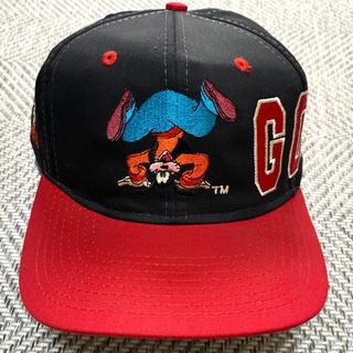 ディズニー(Disney)の80's GOOFY グーフィー disney キャップ オールド ヴィンテージ(キャップ)