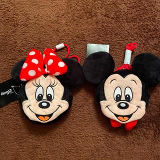 シマムラ(しまむら)の新品未使用品 タグ付きミッキーマウス ミニー  ポーチ 財布 ミニバック(ポーチ)