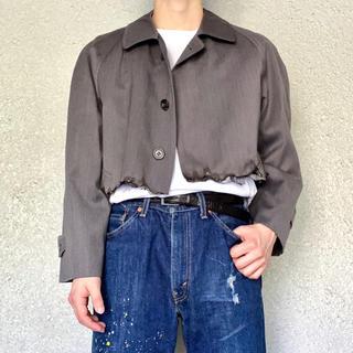 ジョンローレンスサリバン(JOHN LAWRENCE SULLIVAN)の日本製 レオン マチルダ ペイント ショート丈 ジャケット(テーラードジャケット)