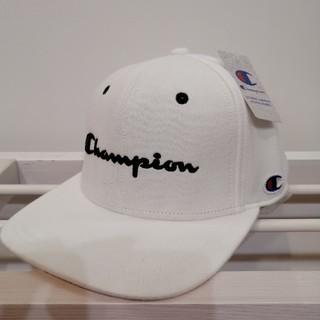 Champion - ☆ユニセックス☆定番白チャンピオン スウェットフラットキャップ新品未使用送料無料