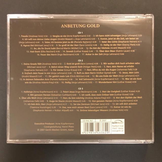 Anbetung Gold -3CDs エンタメ/ホビーのCD(宗教音楽)の商品写真