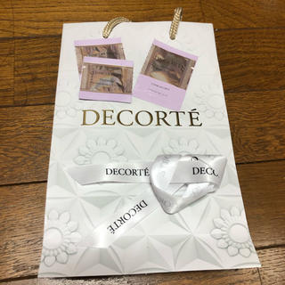 コスメデコルテ(COSME DECORTE)のDECORTE ショッパー & サンプル(ショップ袋)