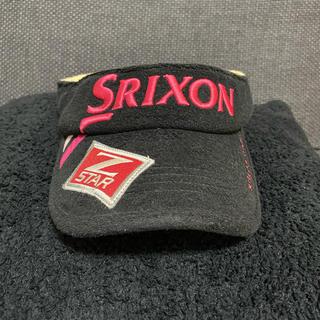 スリクソン(Srixon)のSRIXON スリクソン サンバイザー レディース(サンバイザー)