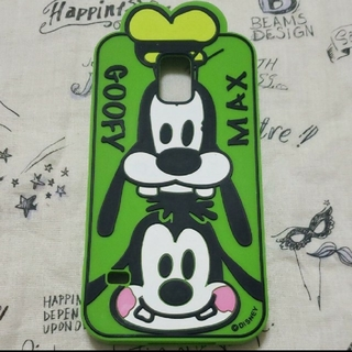 ディズニー(Disney)のGALAXYS5 携帯ソフトケース グーフィー&マックス(Androidケース)