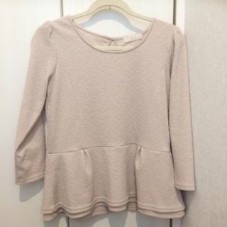 エニィスィス(anySiS)の七分袖カットソー(Tシャツ(長袖/七分))