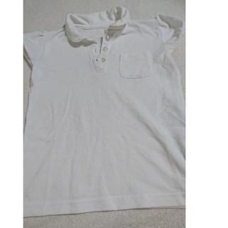 ベルメゾン(ベルメゾン)の半袖 ポロシャツ 白 120 ベルメゾン GITA 女の子 パフスリーブ(ブラウス)
