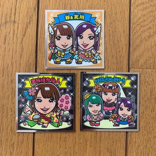 エイチケーティーフォーティーエイト(HKT48)のAKBックリマンシール ビックリマンシール 3枚セット(アイドルグッズ)