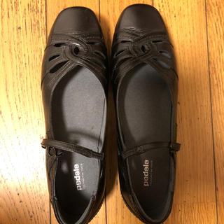 アシックス(asics)の革靴 24.5センチ(ローファー/革靴)