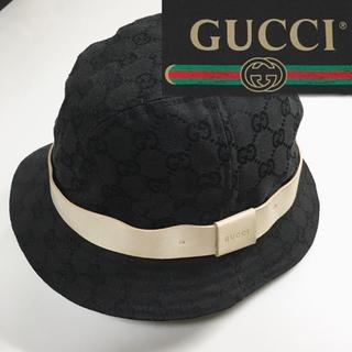 グッチ(Gucci)のGUCCI グッチ CG柄 総柄 ハット フィドラハット バケットハット(ハット)