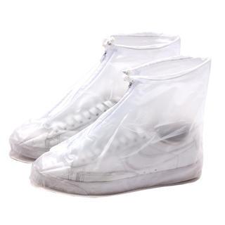 シューズカバー 防水 靴カバー 雨対策 携帯可 男女兼用 ビニール(長靴/レインシューズ)