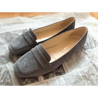 ガリャルダガランテ(GALLARDA GALANTE)の【新品】《GALLARDAGALANTE》スエードフラットローファー 38(ローファー/革靴)