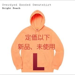 シュプリーム(Supreme)のsupreme Overdyed Hooded Sweatshirt(パーカー)