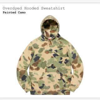 シュプリーム(Supreme)のLサイズ Overdyed Hooded Sweatshirt(パーカー)