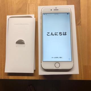 アイフォーン(iPhone)のApple iPhone 6 16GB MG492J/A A1586 ゴールド (スマートフォン本体)