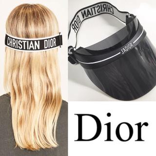 ディオール(Dior)のDIOR ディオール サンバイザー Diorclub1 ディオールクラブワン(サンバイザー)