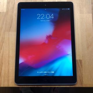 アイパッド(iPad)のApple iPad Air 64GB Cellularモデル 傷、凹み、中古(タブレット)