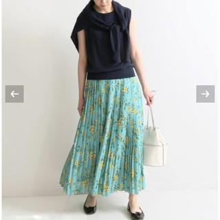 イエナ(IENA)の2019年製☆IENA カスレフラワープリーツスカート(ロングスカート)