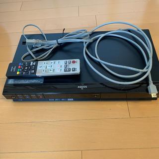 アクオス(AQUOS)の中古 シャープ AQUOS ブルーレイ DVDレコーダー(ブルーレイレコーダー)