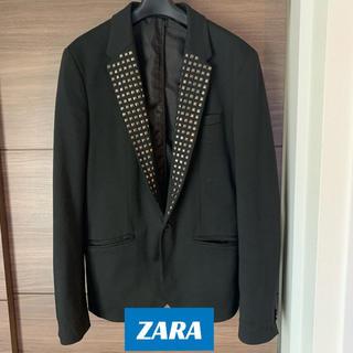 ザラ(ZARA)の【ZARA】ジャケット 結婚式 2次会などに スタッズ(テーラードジャケット)