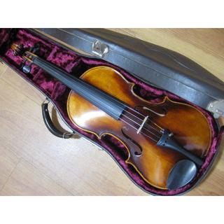 【濃淡良彩ニス】西ドイツ製 ストラド1713コピー バイオリン 4/4(ヴァイオリン)